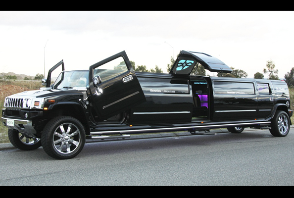 Black Hummer Limo Perth